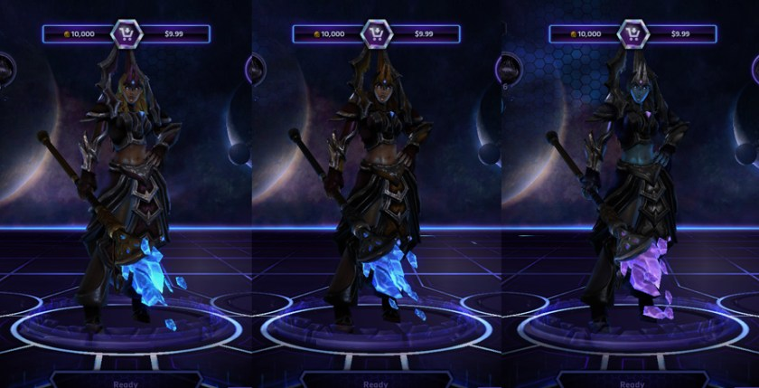 heroes storm Jaina skins tempest regalia