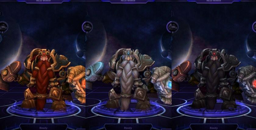 heroes storm Muradin skins magni