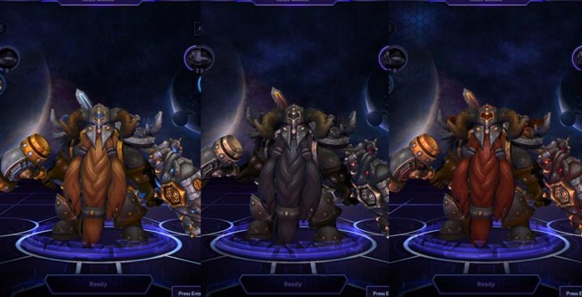 heroes storm Muradin skins master
