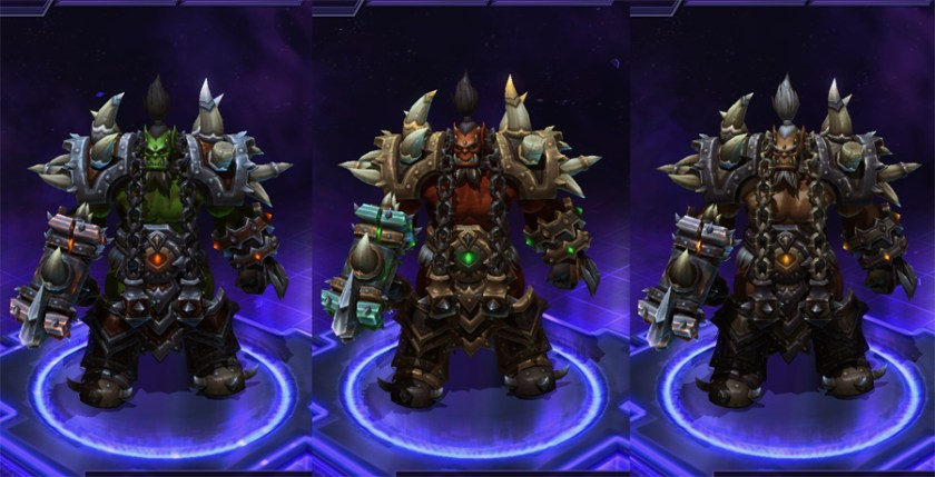 heroes storm Thrall skins Hellhammer