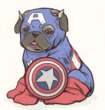 josh lynch marvel dogs 003 captain america