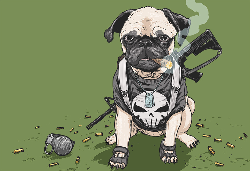 josh lynch marvel dogs 011 punisher