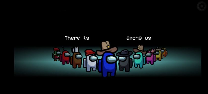 blank among us meme templates crewmates blue there is an imposter among us