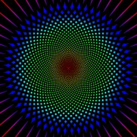 Color Changing Optical Illusion