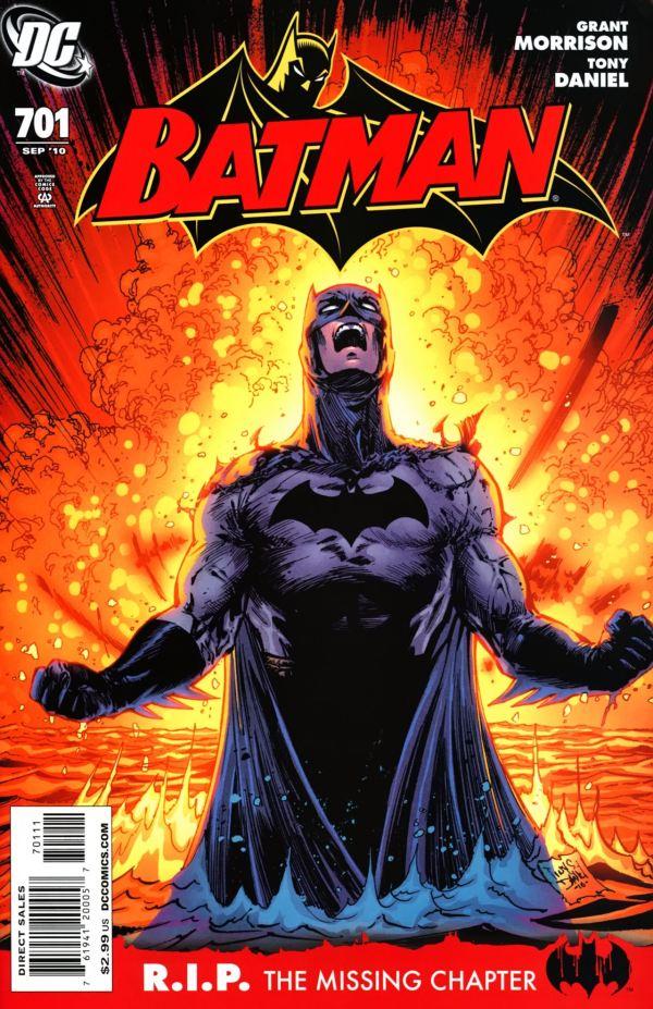 DC Batman Comic Book Covers