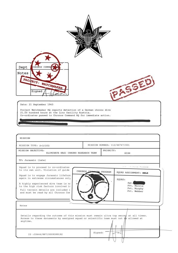 Chronos Commandos Orientation Pack - pg3