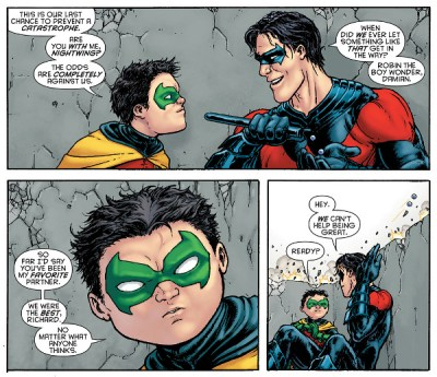 Damian and Grayson