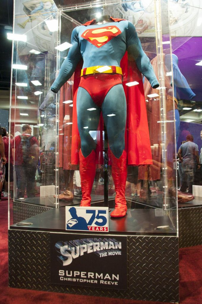 Christopher Reeve's Supes Costume, Superman, DC, Superman: The Movie, SDCC2013, San Diego Comic Con