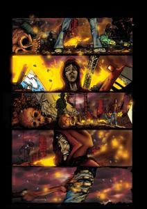 Fallen Heroes, Comic