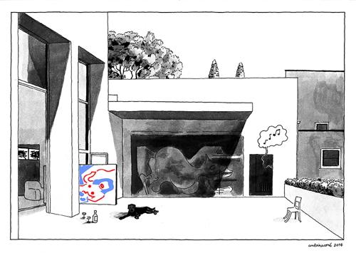 Print by Antoine Cosse