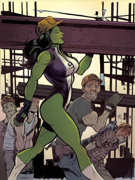 ze Hulk Porn cartoon