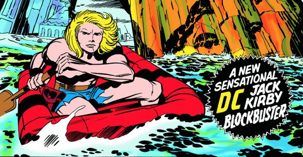 Art by Jack Kirby. Copyright: DC Comics