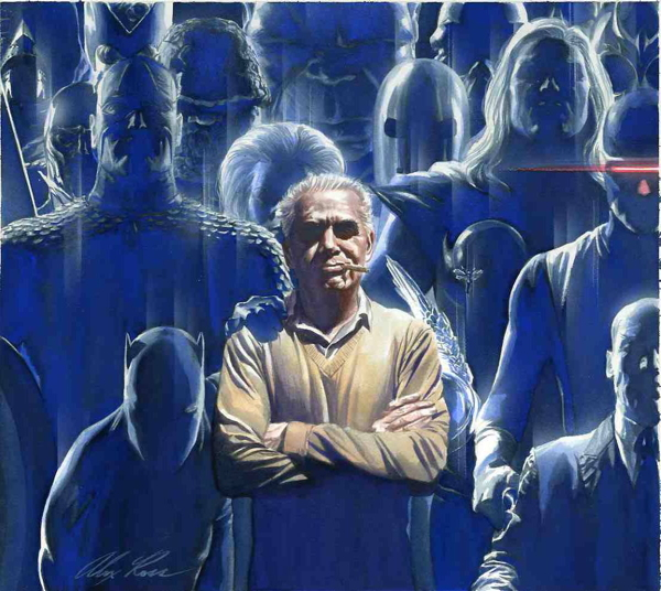 Tribute to the King by Alex Ross.