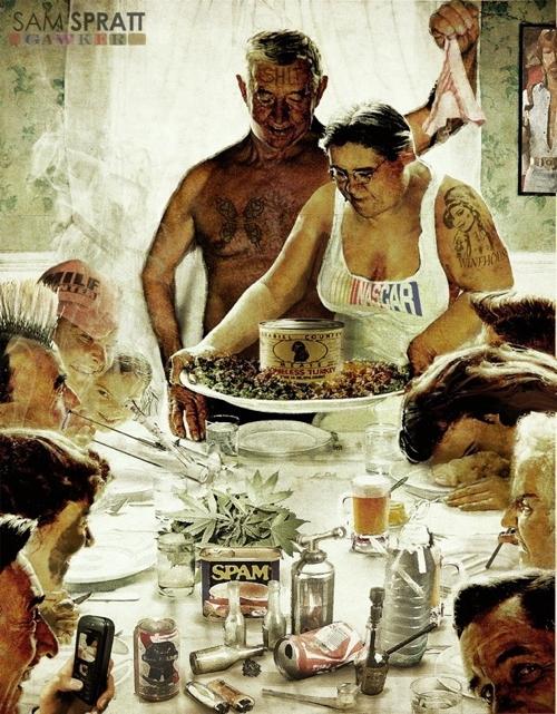 rockwell-thanksgiving-parody-09