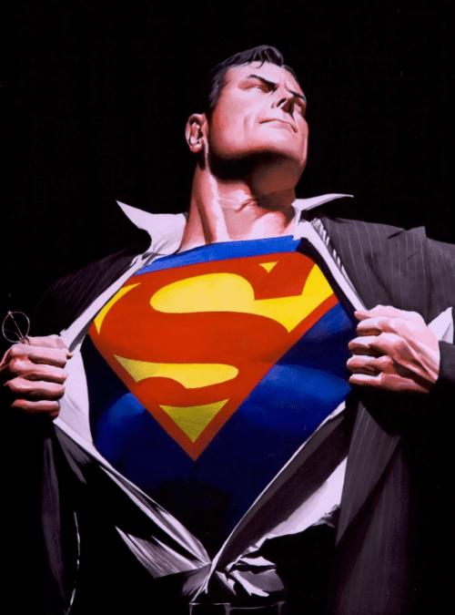 Alex Ross Superman Changing
