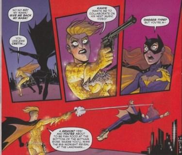 Dagger Type in Batgirl #37
