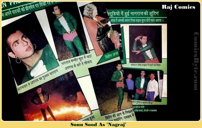 Pralay TV Ad, Sonu Sood Played Role Of Superhero Nagraj (Raj Comics)