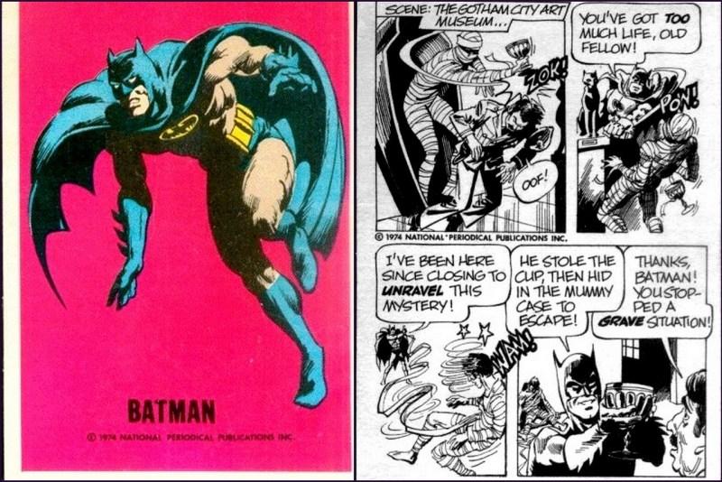 Batman - Justice League DC Comics Trading Card - Comic Strip