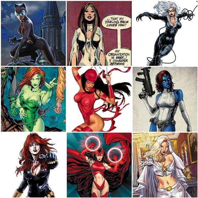 Marvel Comics - DC Comics - Sirens