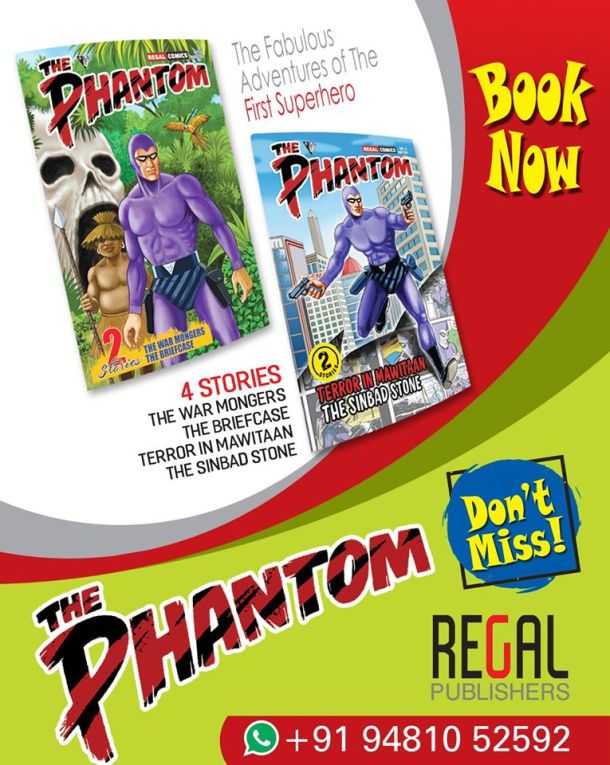 The Ghost Who Walks - The Phantom - Regal Publishers