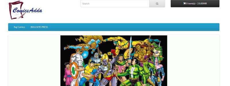 Comics Adda - New home of indian comic book heroes