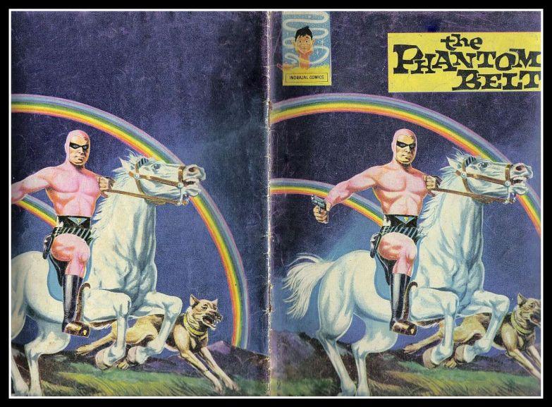 Indrajal Comics - The Phantoms Belt - 1st Issue
