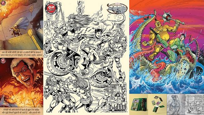 Raj Comics By Manoj Gupta