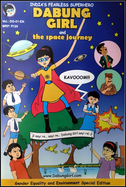 Dabung Girl and the Space Journey Comics