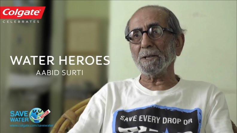 Aabid Surti Ji - Water Heroes