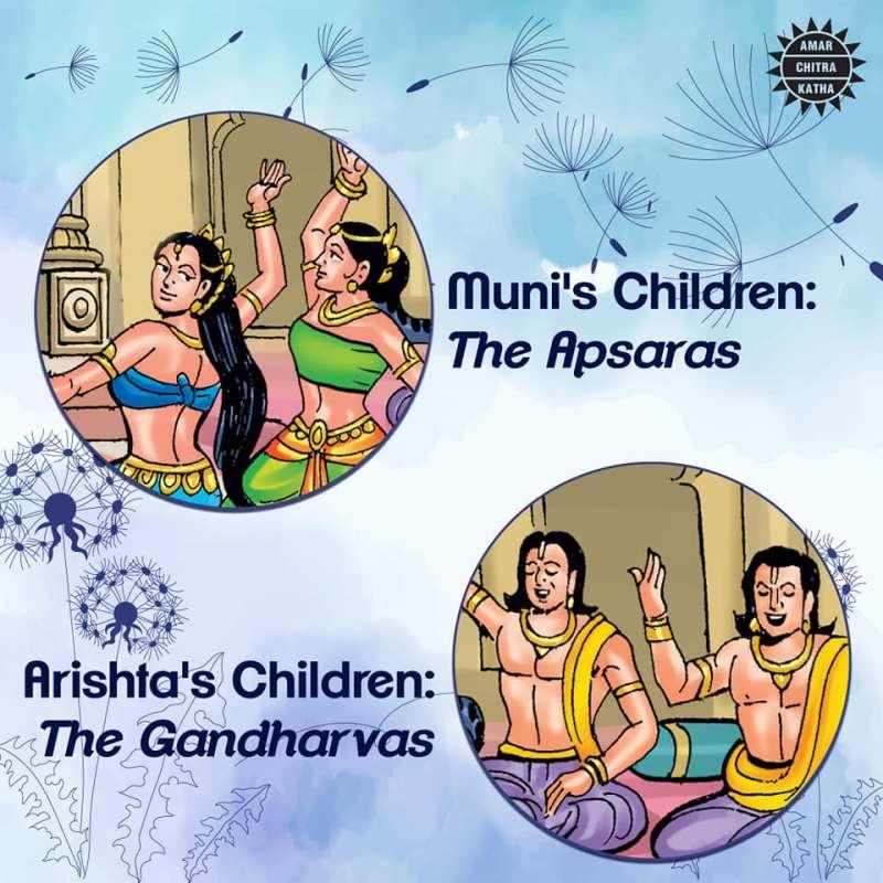 Amar-Chitra-Katha-Apsaras-Gandharvas