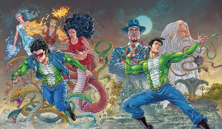 Narak Nashak Nagraj - Origin Series - Raj Comics