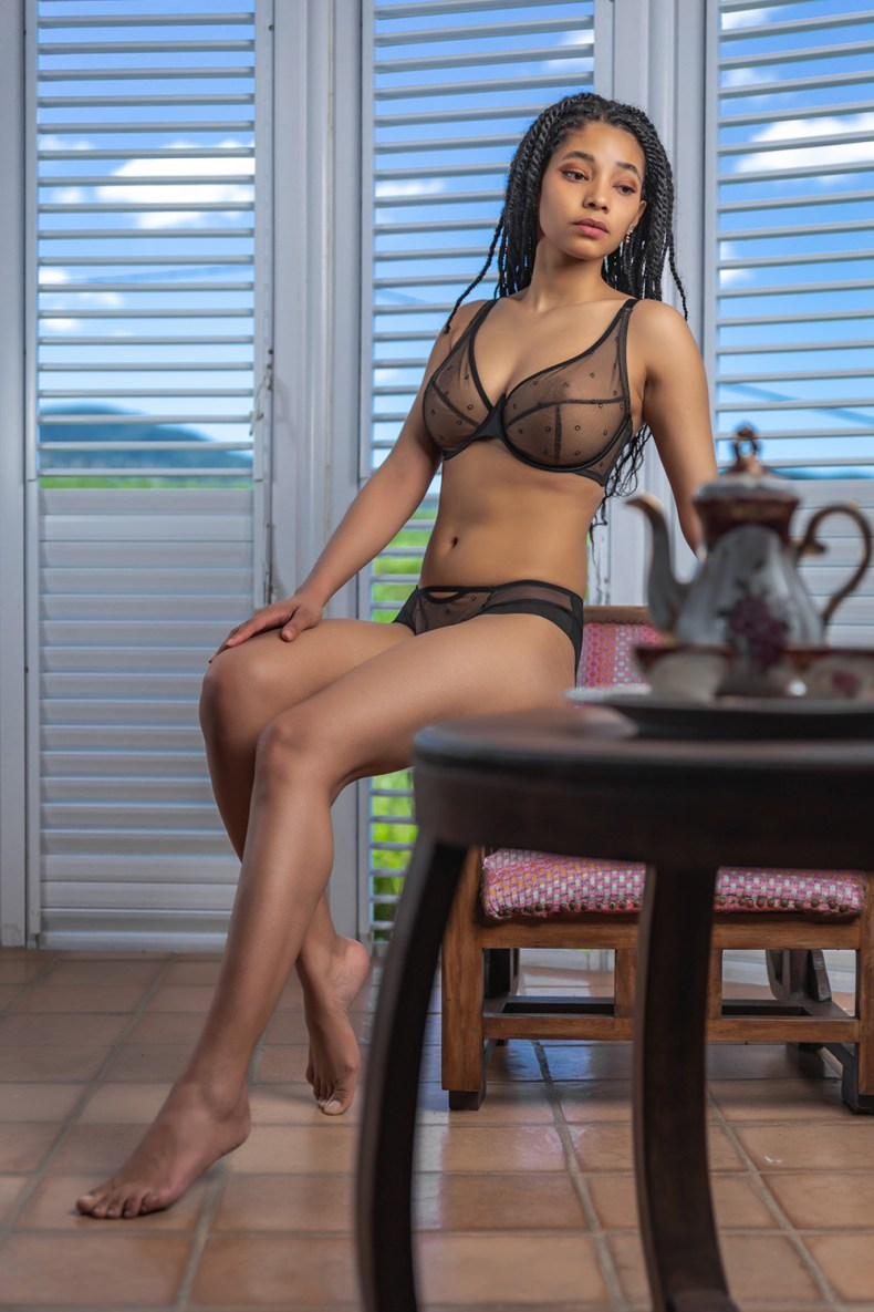 Adina Reay lingerie
