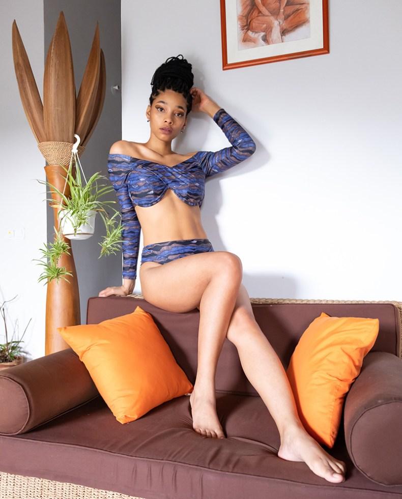 Andrea Iyamah bikini
