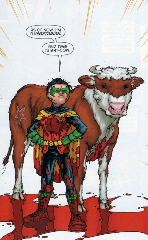 Damian Wayne, up for the fight. From #1