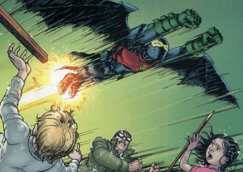Damian Wayne, Kid Power! From #8