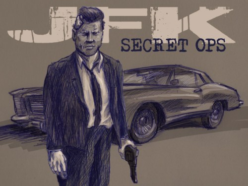JFK SECRET OPS: THE GRAPHIC NOVEL by Craig Frank