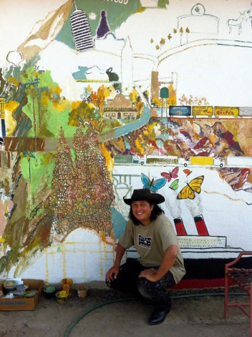 Phil Yeh and the San Bernardino mural