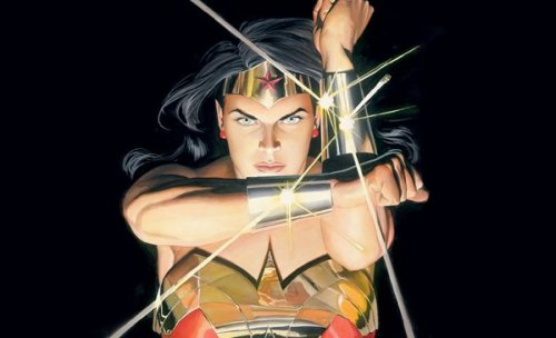 Wonder Woman art by Alex Ross