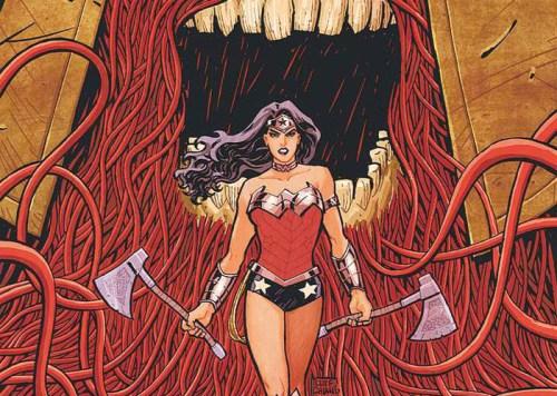 Wonder Woman art by Cliff Chang