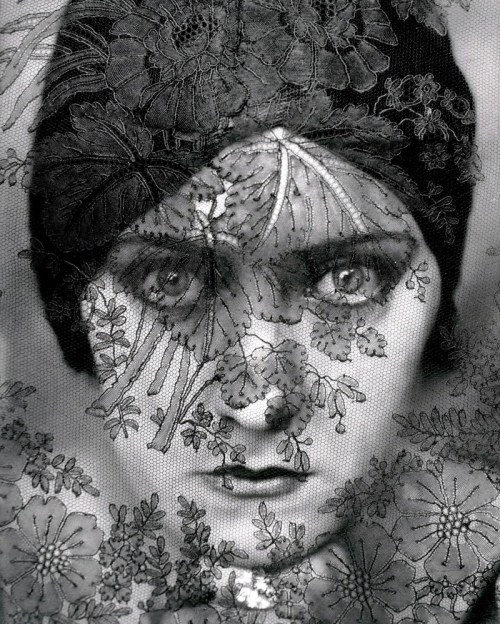 Gloria Swanson photograph by Edward Steichen, 1924