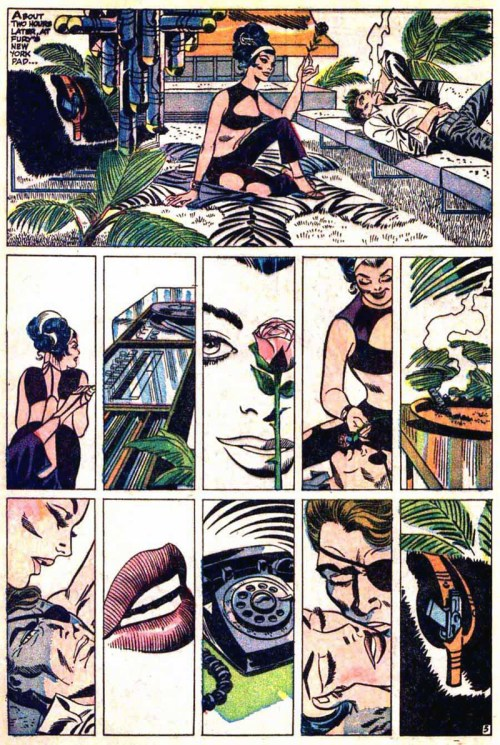 """Nick Fury, Agent of S.H.I.E.L.D."" by Jim Steranko, 1968"