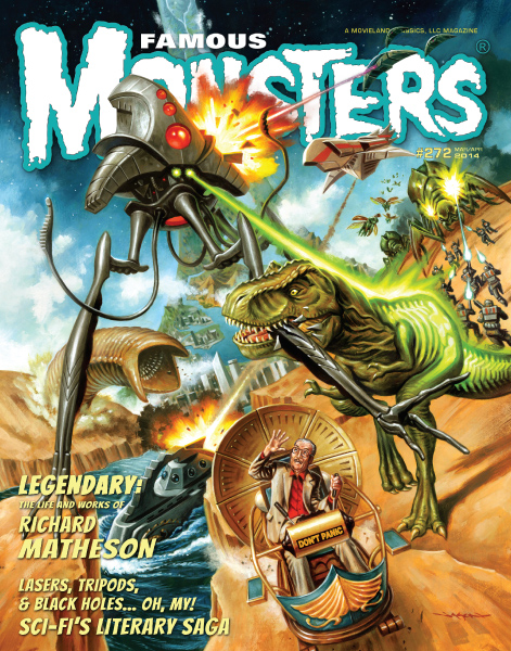 FAMOUS MONSTERS #272 HISTORY OF SCI-FI (NEWSSTAND)