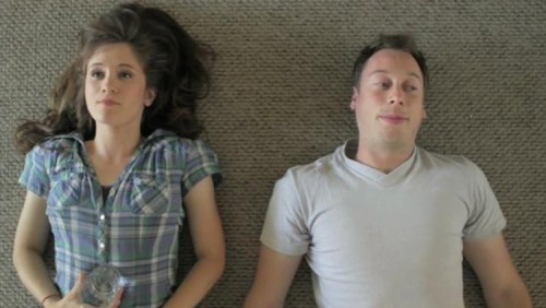 "Noël Wells and Matt Mider in ""Forev"""