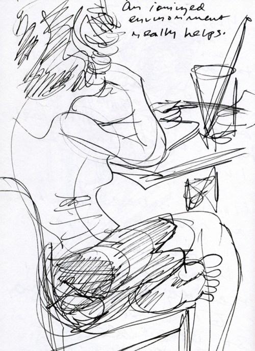 Pretty-Girl-Seattle-Cafe-Henry-Chamberlain-art