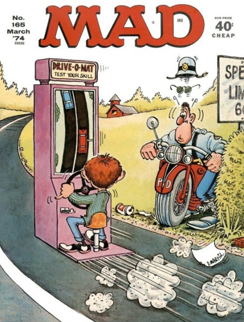 MAD Magazine, Don Martin cover art, March 1974