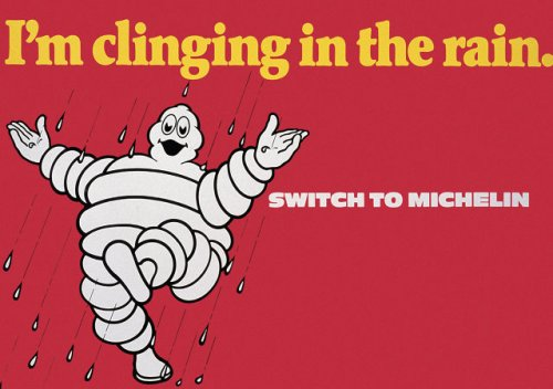 The Michelin Man, a long lost relative to Baymax?