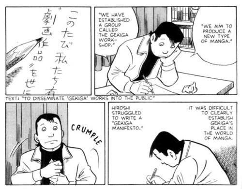 Gekiga-Yoshihiro-Tatsumi