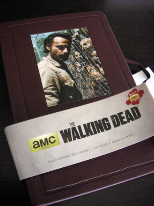 The Walking Dead Hardcover Ruled Journal