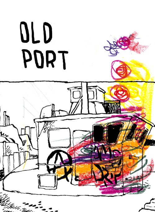 """Old Port,"" by Evangelos Androutsopoulos, available at ZCO.MX"