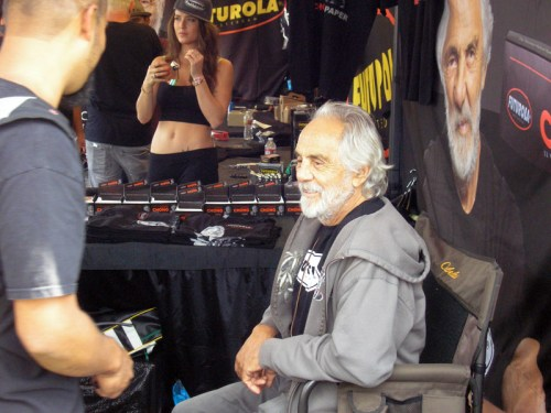 Tommy Chong at Seattle Hempfest 2015